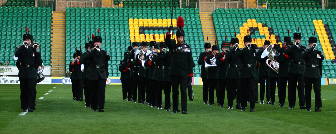 Northampton Saints vs British Army