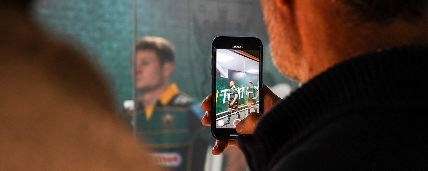 The Tunnel Club is a groundbreaking matchday experience at Franklin's Gardens