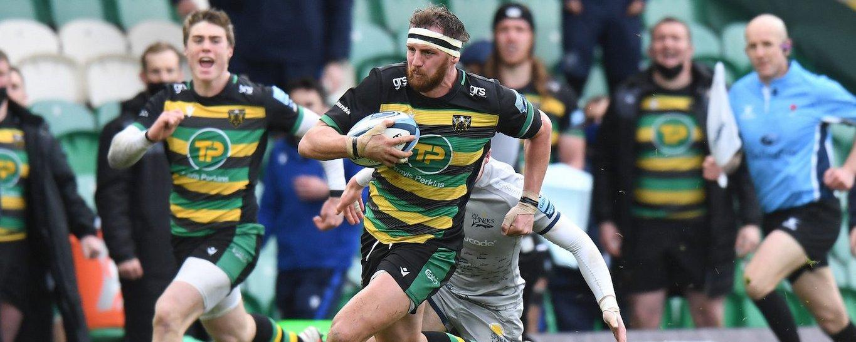 Tom Wood of Northampton Saints