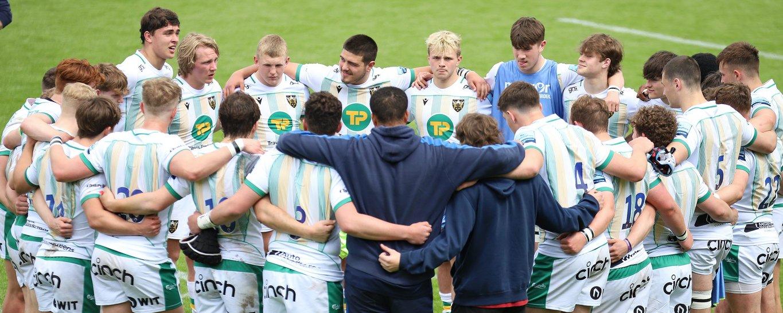 Northampton Saints' Under-18s during the 2020/21 season