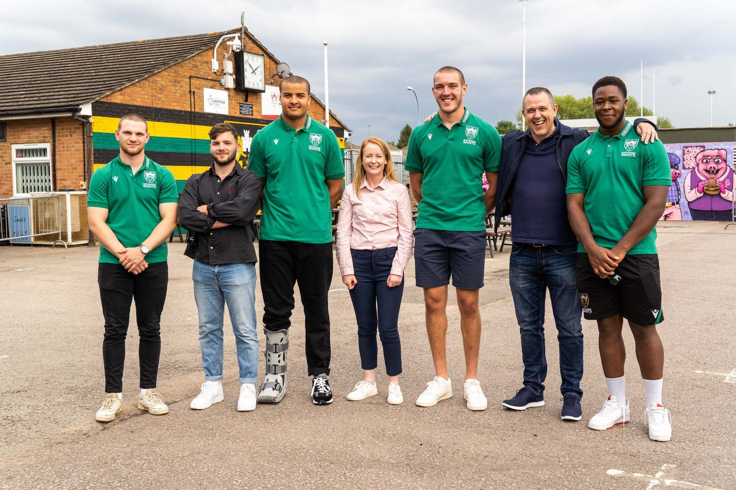 Put your name behind a Northampton Saints player with our range of Player Sponsorship packages.