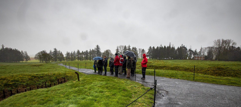 Foundation volunteers visit French battlefields