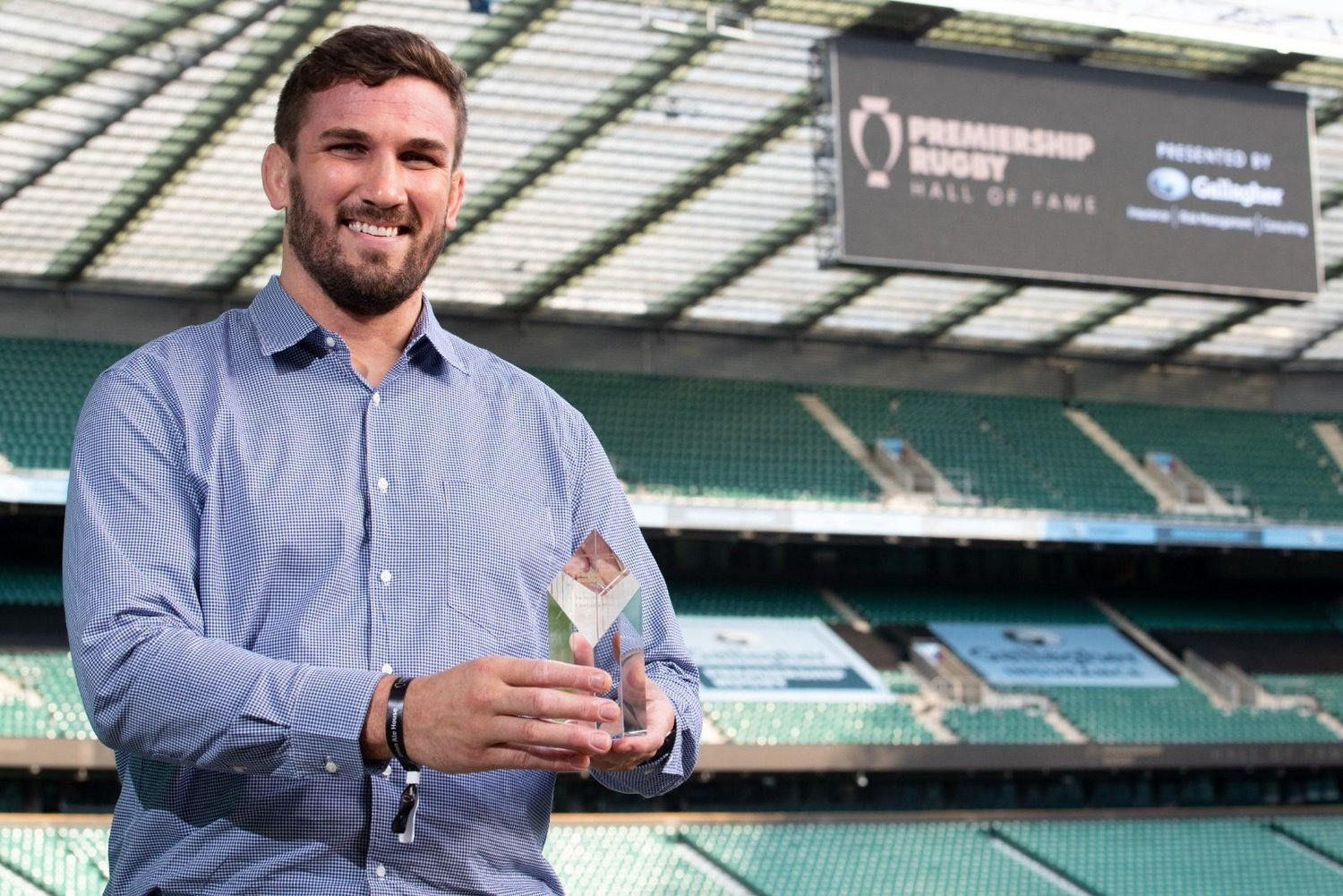 Former Saints lock Christian Day has been inducted into the Premiership Rugby Hall of Fame.