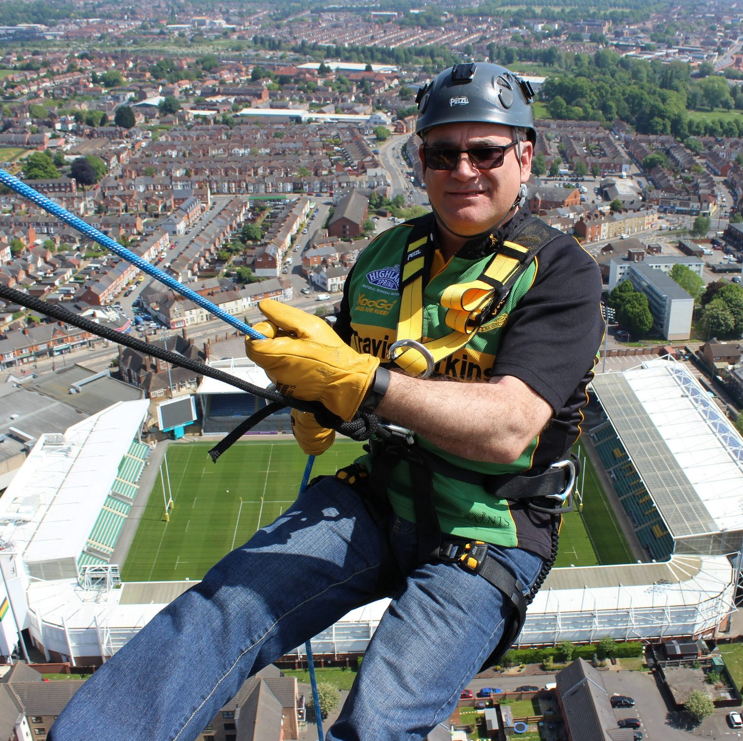 Northampton Saints Foundation Charity Abseil | 11 July 2020