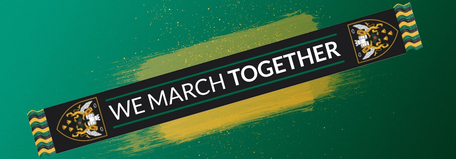 We March Together scarf