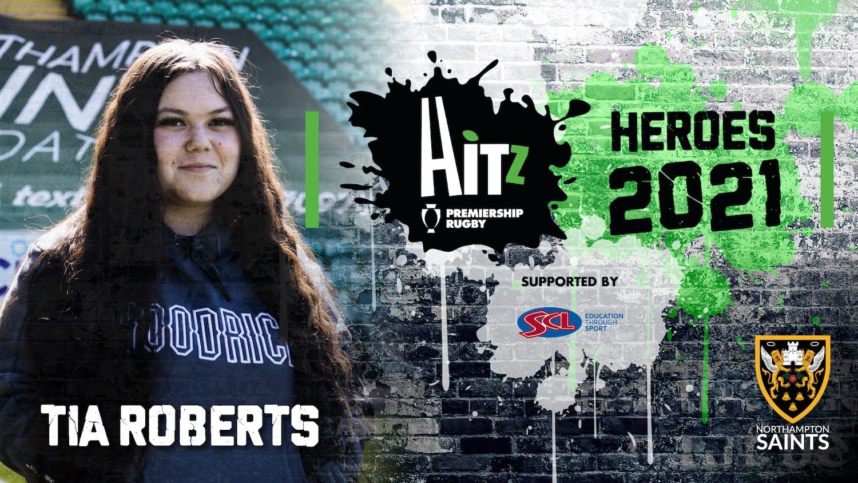 Tia Roberts is a HITZ Hero for 2021