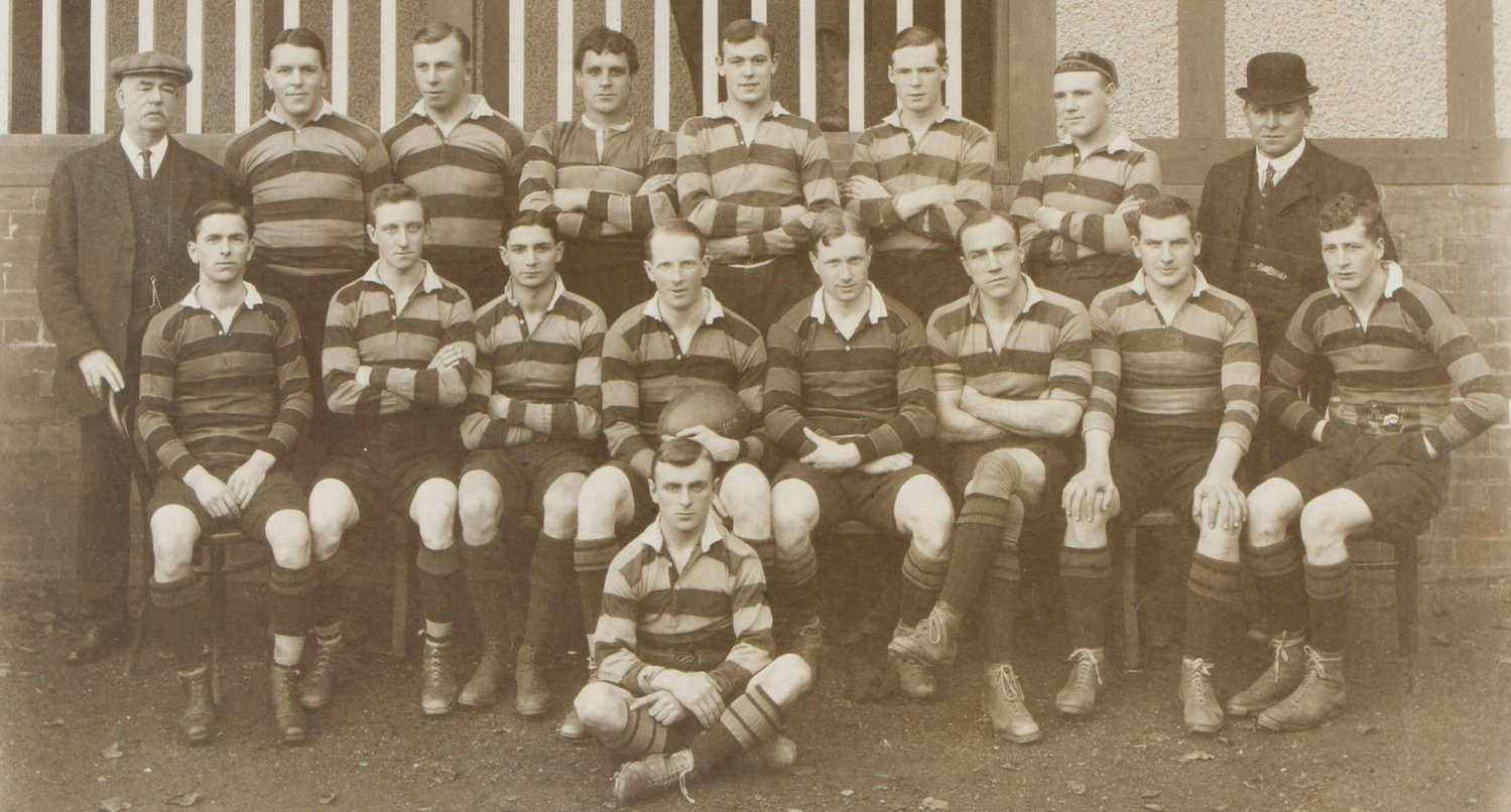 Northampton Saints team photo 1912-13