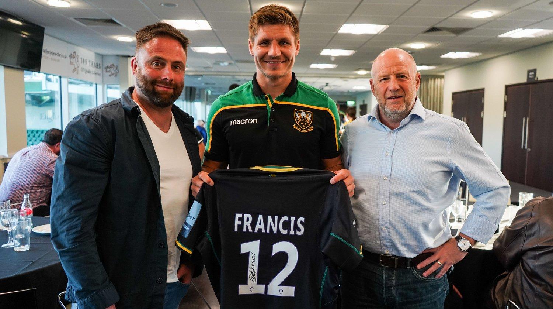 Piers Francis player sponsor event