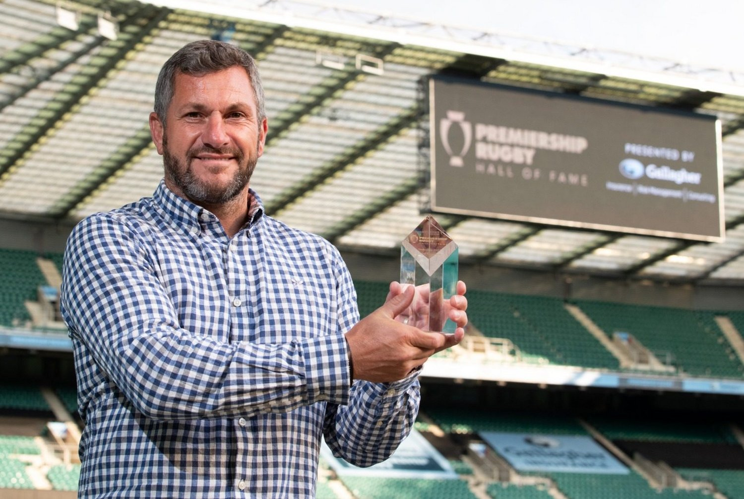 Former Saints fly-half Paul Grayson has been inducted into the Premiership Rugby Hall of Fame.