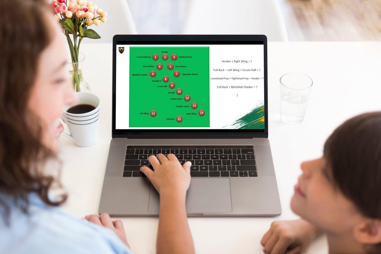 Northampton Saints are delivering online education programmes