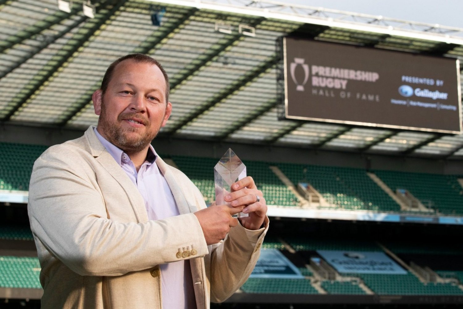 Former Saints hooker Steve Thompson has been inducted into the Premiership Rugby Hall of Fame.