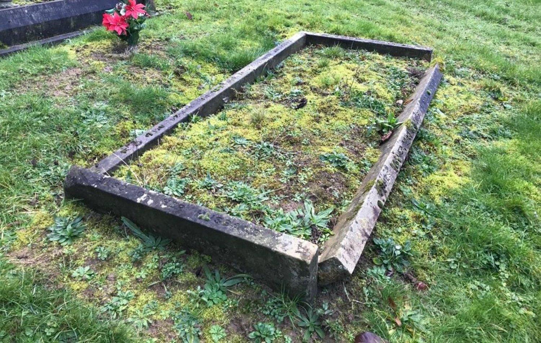 Jim Barker is buried in Dallington Cemetery