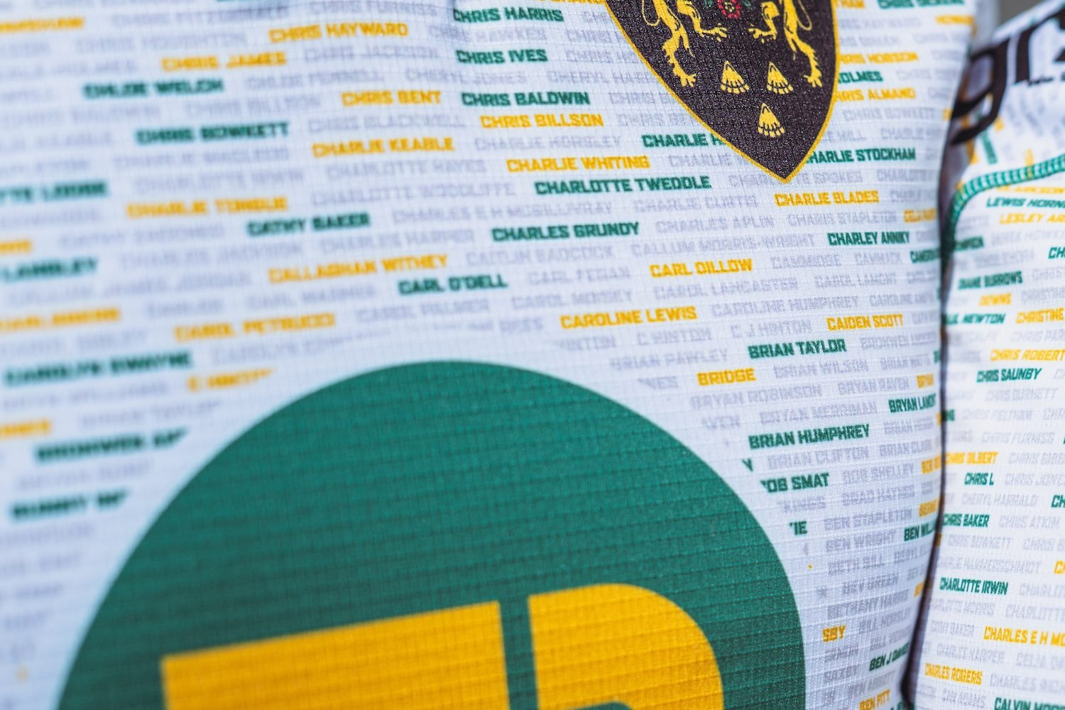 Thousands of supporters' names are weaved into Saints' 2021/22 Away Kit