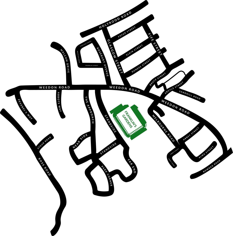 The Parish Map | Northampton Saints Supporters Scheme