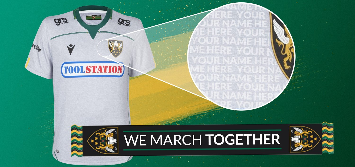We March Together shirt and scarf