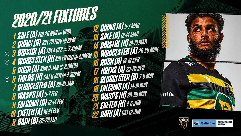 2020/21 fixtures