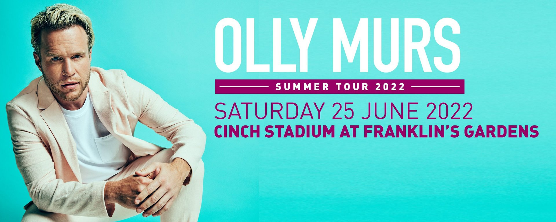 Hospitality: Olly Murs, supported by The Feeling