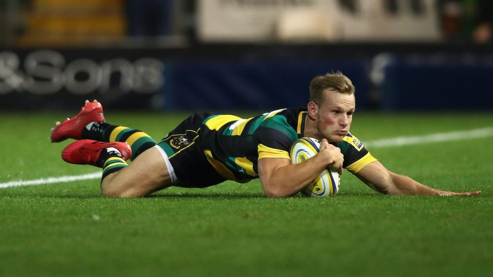 Northampton Saints' Rory Hutchinson during the 2016/17 season