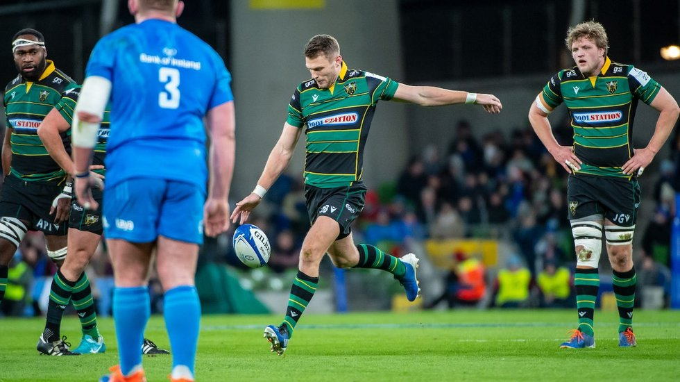Northampton Saints' Dan Biggar during the 2019/20 season