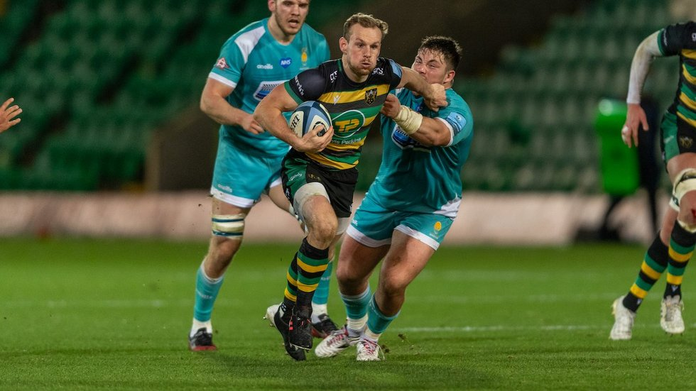 Northampton Saints' Rory Hutchinson during the 2020/21 season