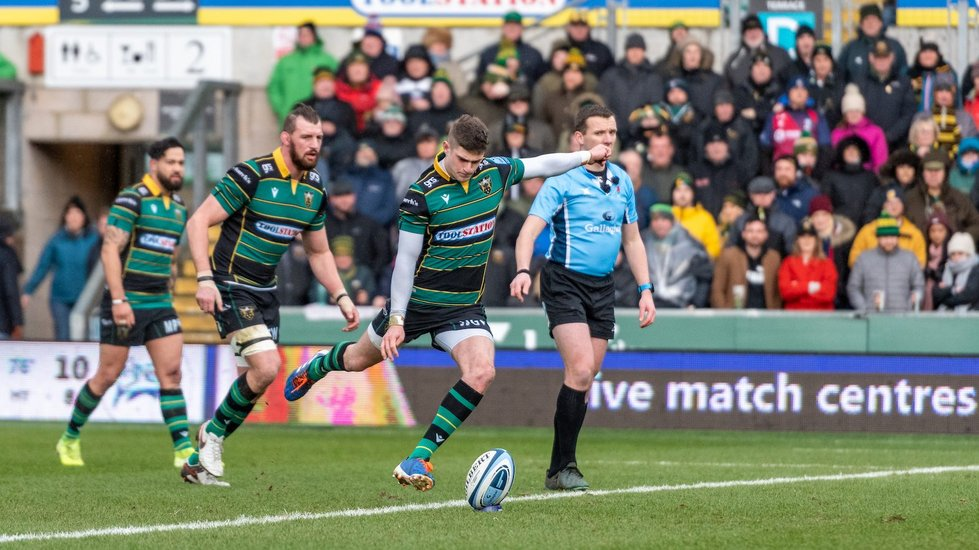 Northampton Saints' James Grayson during the 2019/20 season