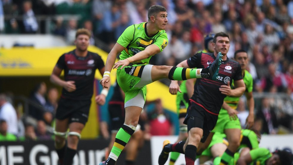 Northampton Saints' James Grayson during the 2017/18 season