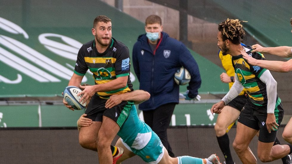 Northampton Saints' Jack Hughes during the 2020/21 season