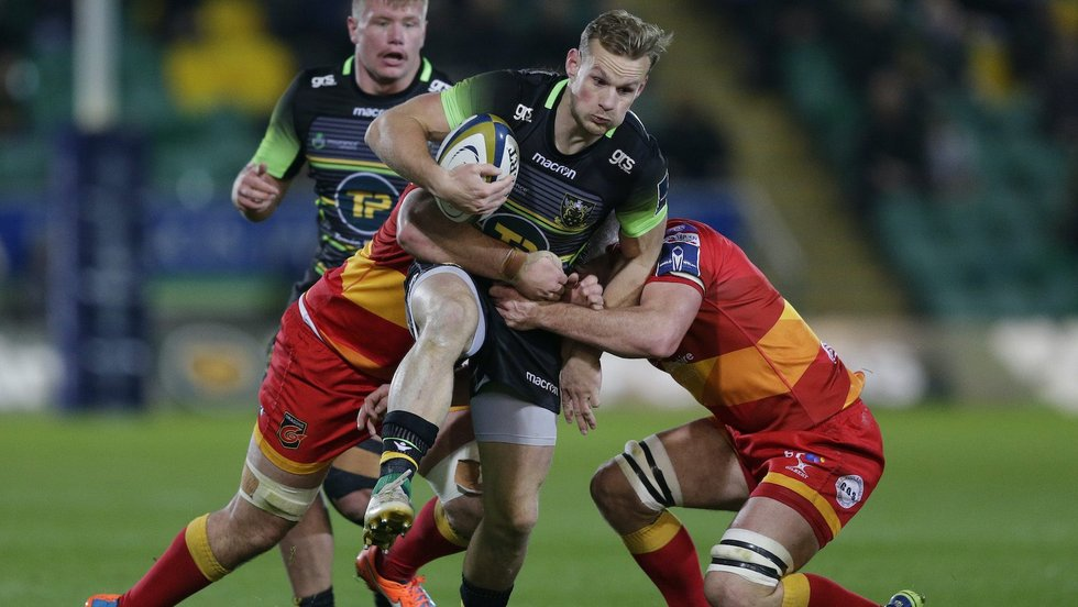 Northampton Saints' Rory Hutchinson during the 2017/18 season