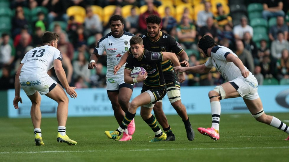 Northampton Saints' James Grayson during the 2018/19 season