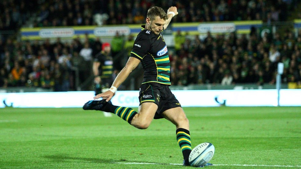 Northampton Saints' Dan Biggar during the 2018/19 season